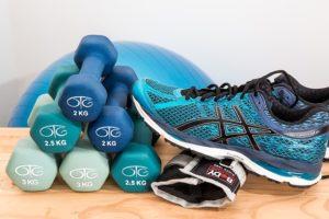 スポーツ選手のトレーニングアイテム