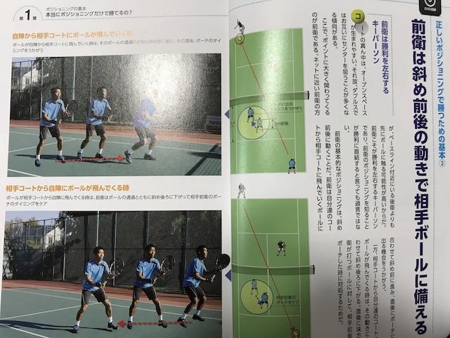 テニス・ダブルス ポジショニングの基本と実践_P18,19