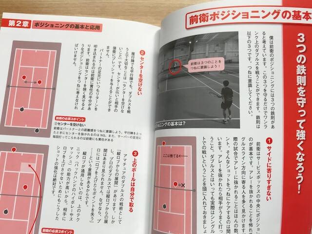 試合に勝つテニス鈴木貴男のダブルス講座P30-P31